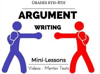 What to write argumentative essay one